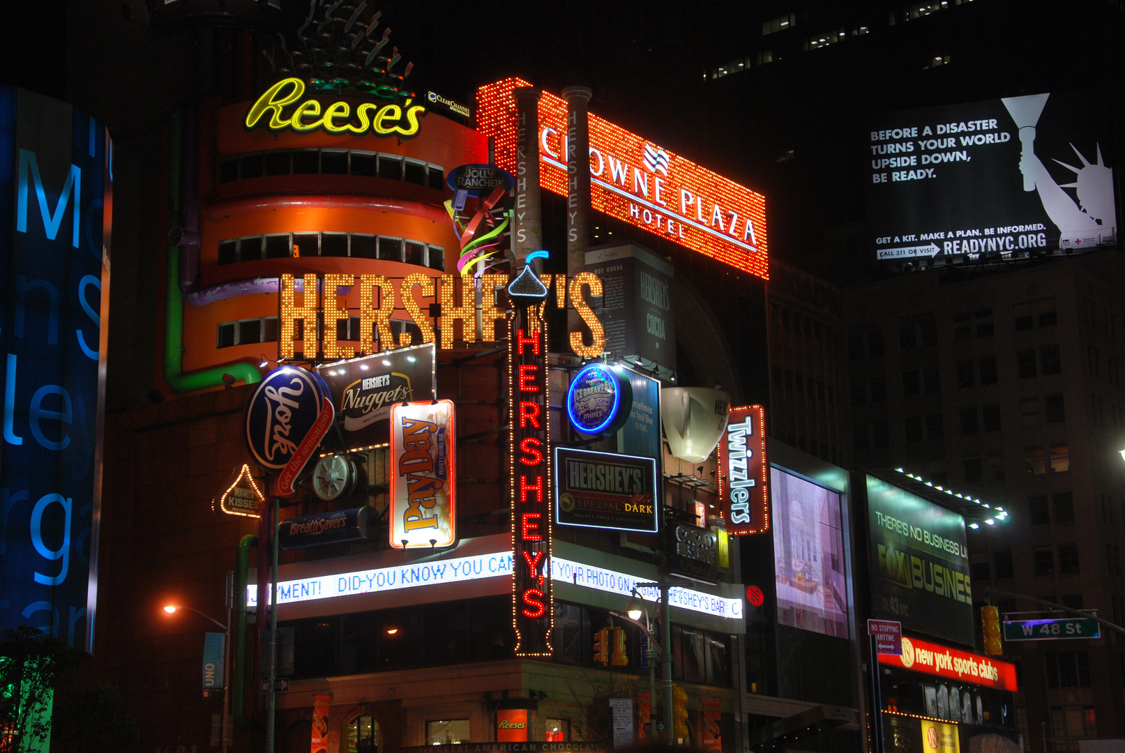 Times Square am Abend II