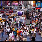 Times Square am Nachmittag