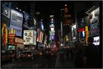 Times Square bei Nacht, New York