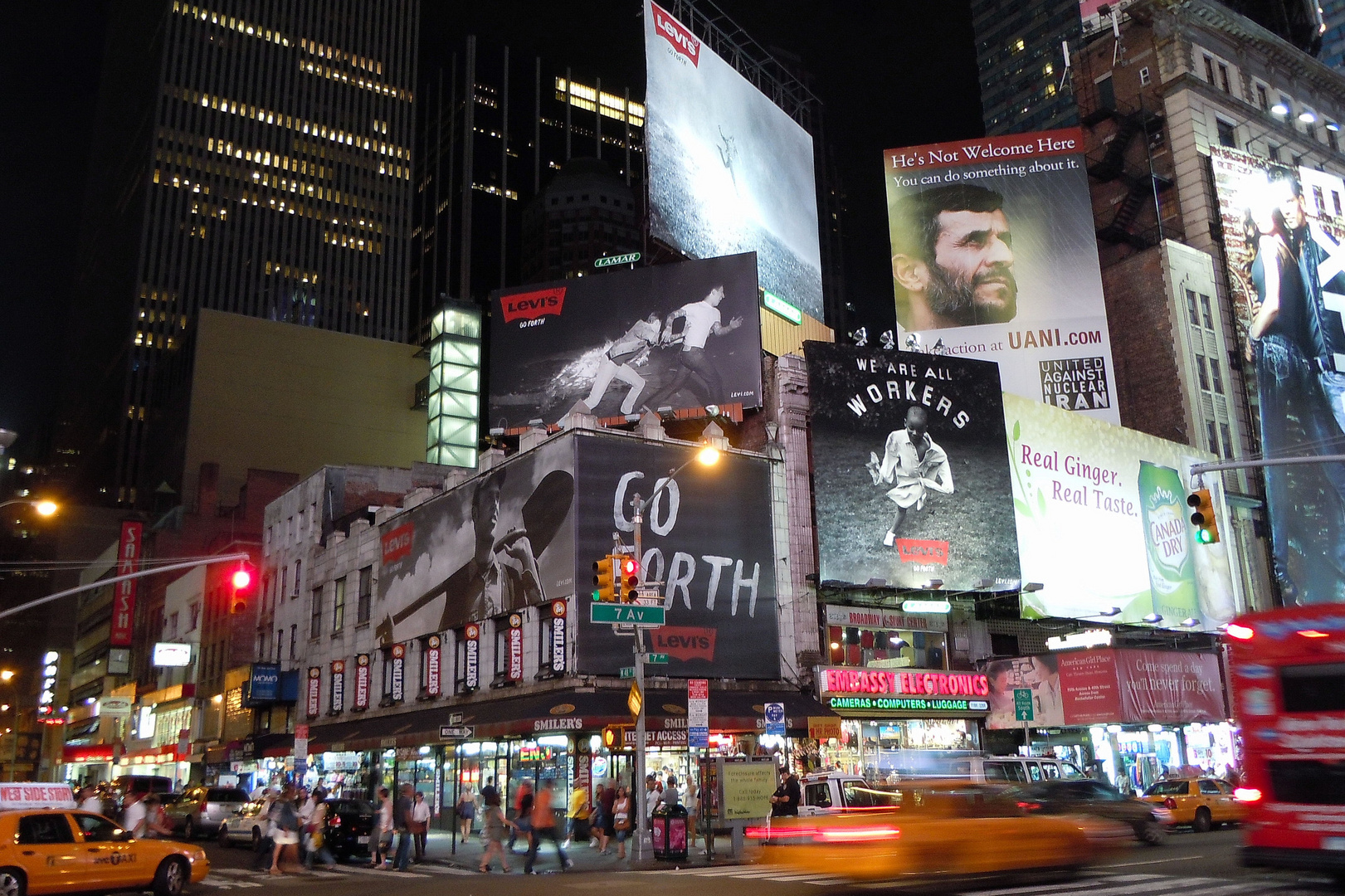 Times square by night 3