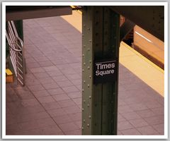 Times Square Subway Stop