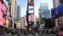 Times Square war Indianerpfad