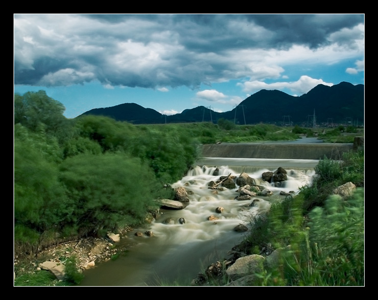 Timis river....