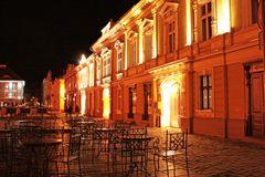 Timisoara bei Nacht