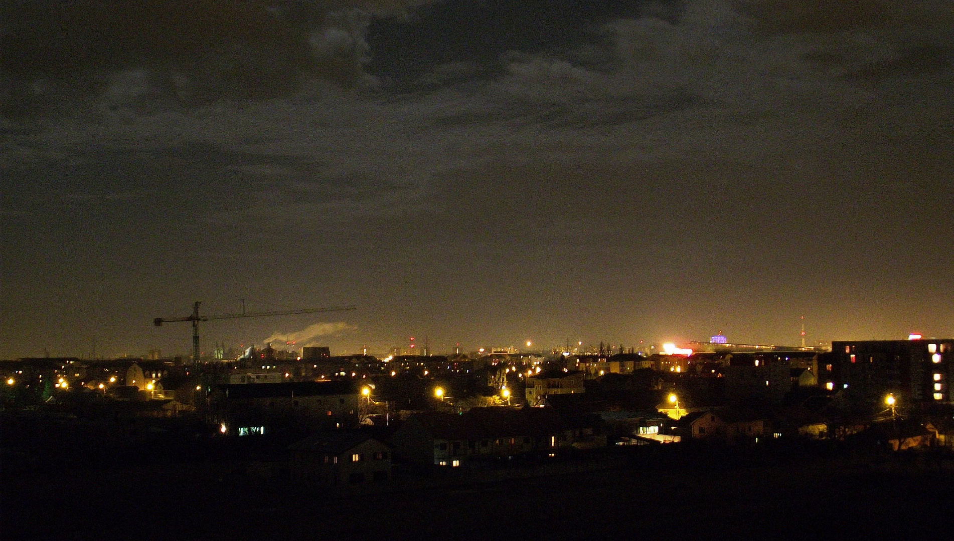 Timisoara, by night