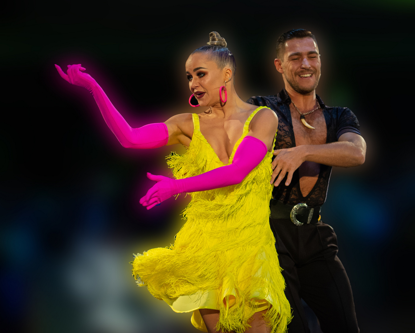 Timur Imametdinov & Nina Bezzubova bei der Samba