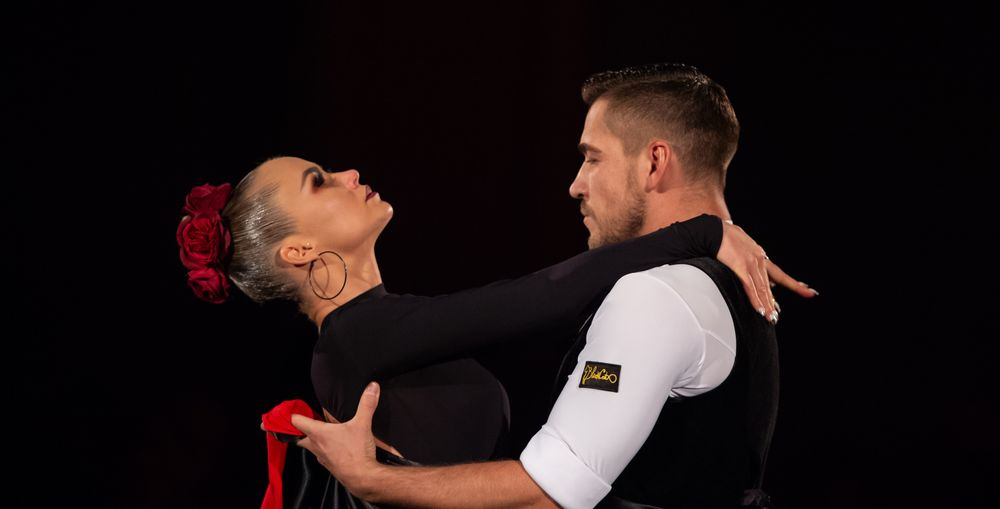 Timur Imametdinov & Nina Bezzubova beim Paso Doble