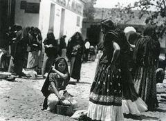 Tina Modotti, Al mercato di Tehuantepec, 1929