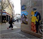 Tintin s'égare à la Butte-aux-Cailles...