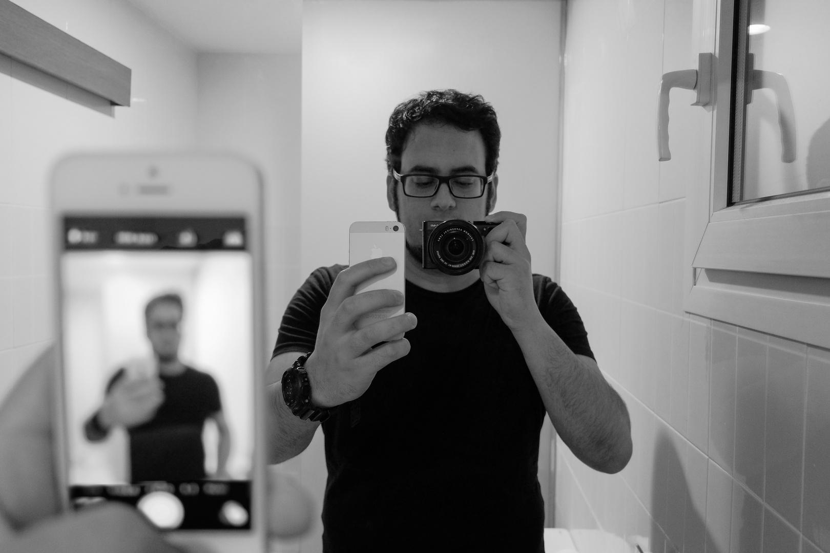 Típico selfie
