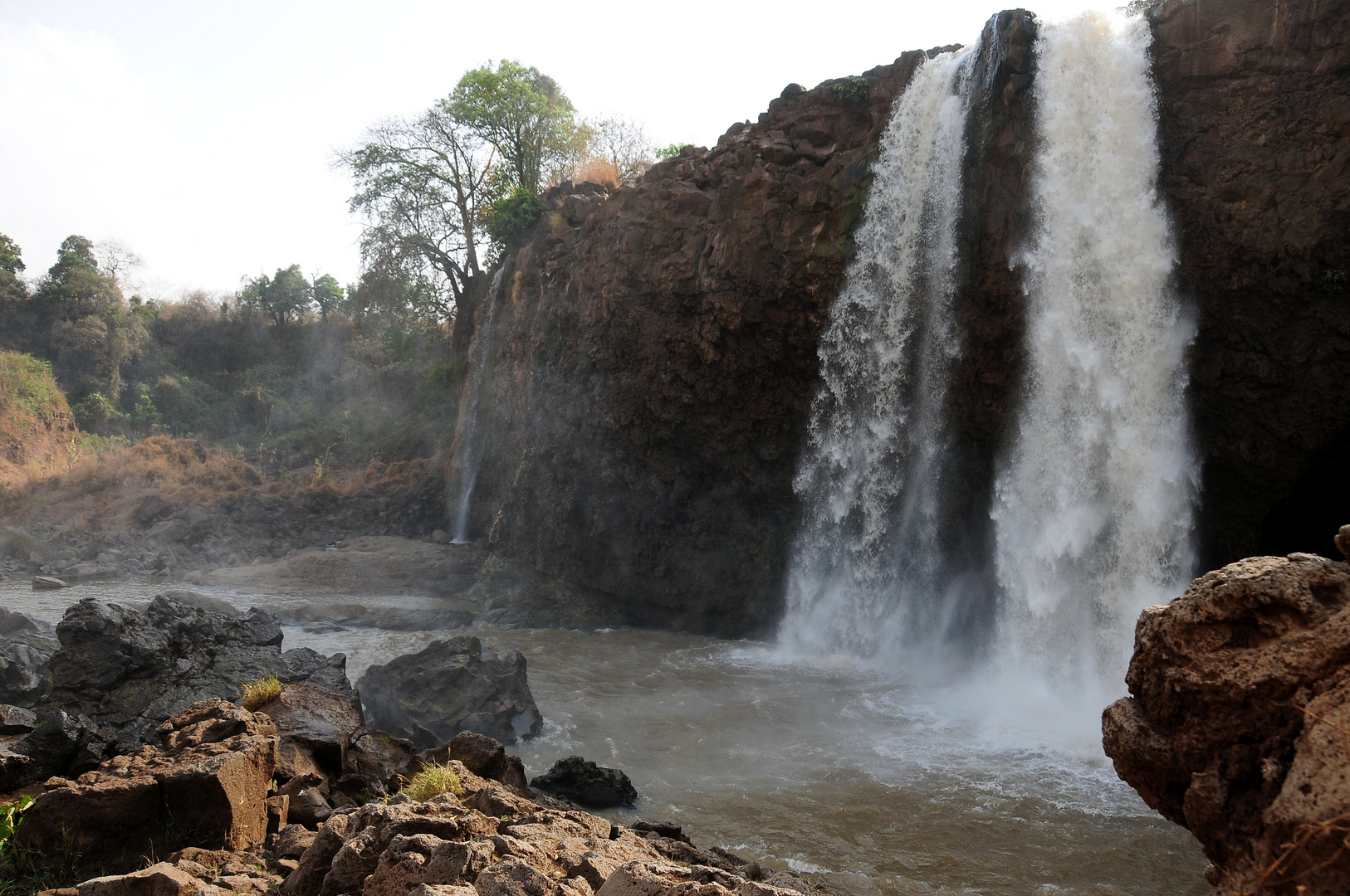 Tisissat-Wasserfall am Blauen Nil