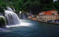 Tisno in Kroatien