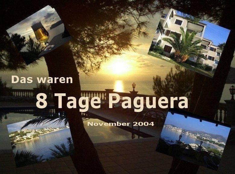 Titel für Bilder-Show Mallorca
