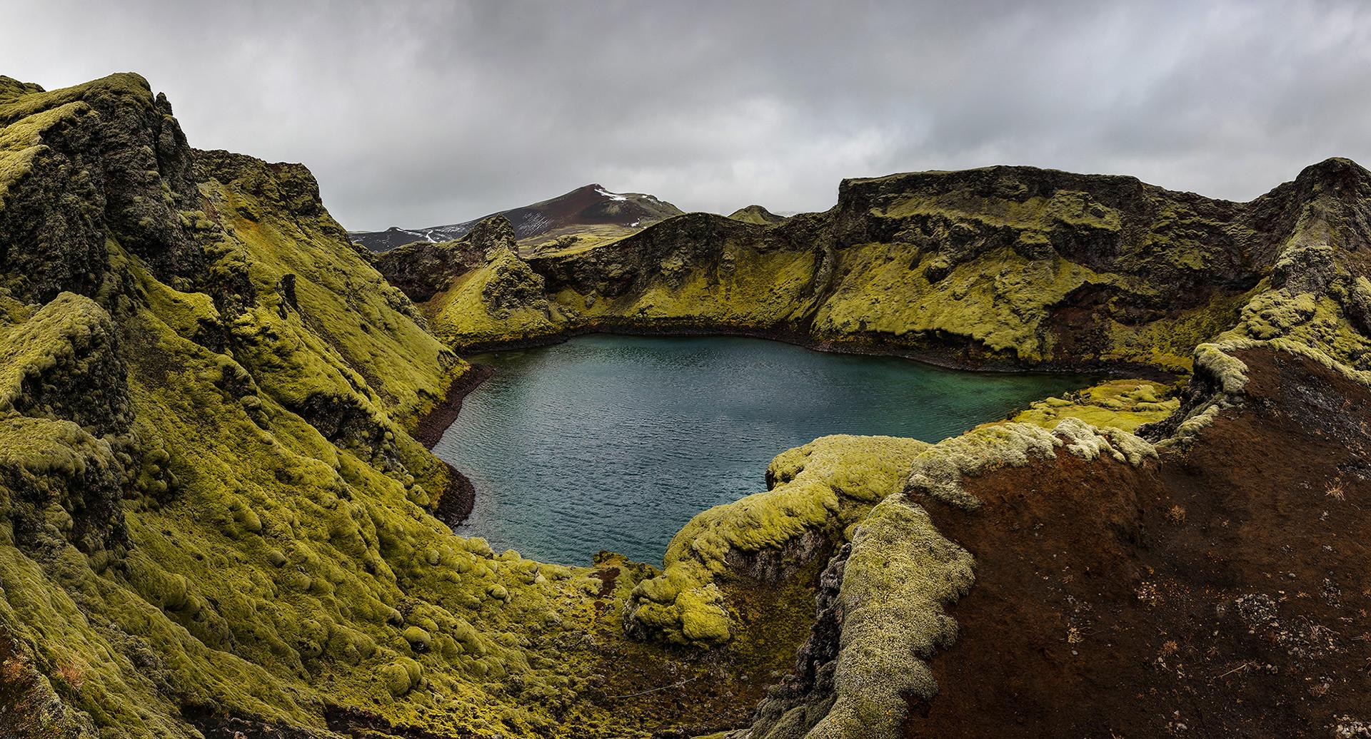 Tjarnargigur Krater