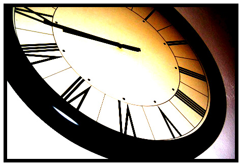 to chase the time