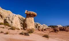 Toadstool Hoodoo 2, Paria Rimrocks, Utah, USA