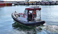 Tochterboot der Seenotrettung