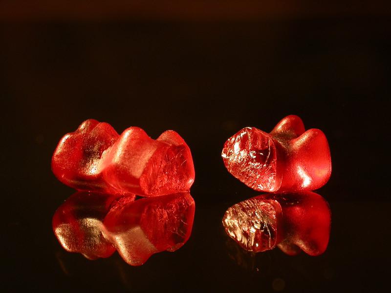 Tod eines Gummibärchens