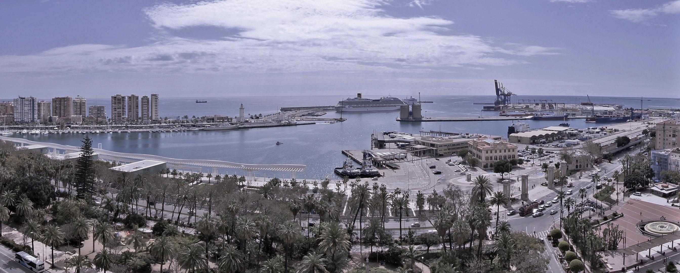 Todo el puerto a simple vista