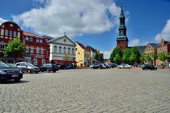 Tönning Marktplatz