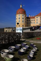 Töpferwaren am Schloss
