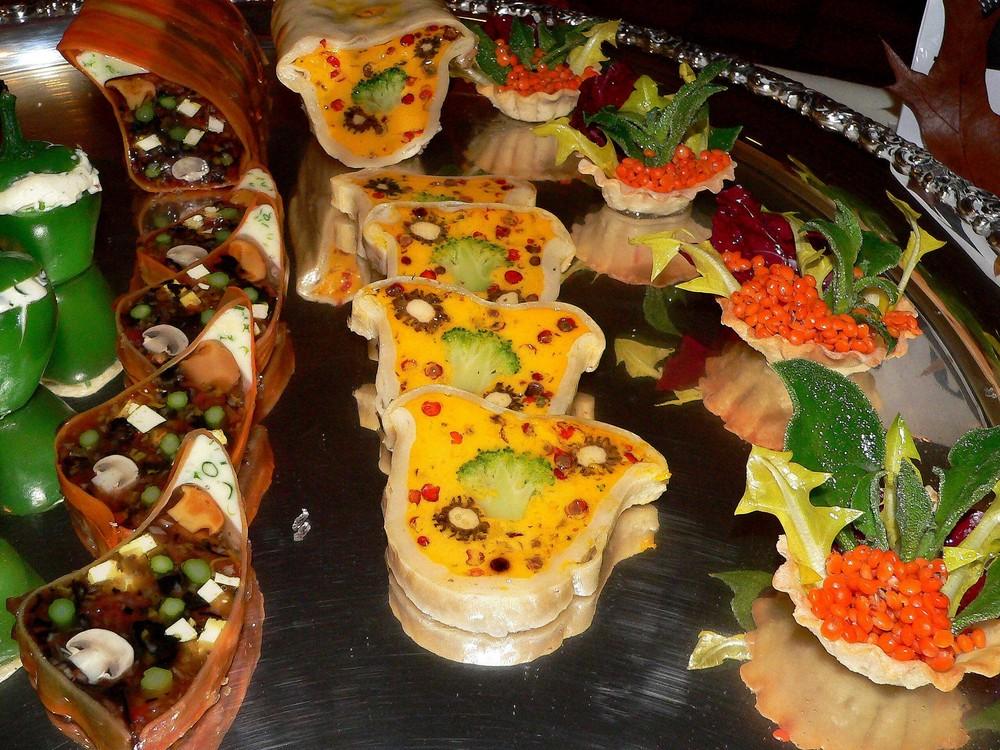 Tofu und Gemüse