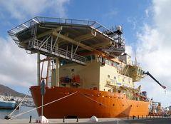 Toisa Valiant im Hafen von Las Palmas/Gran Canaria