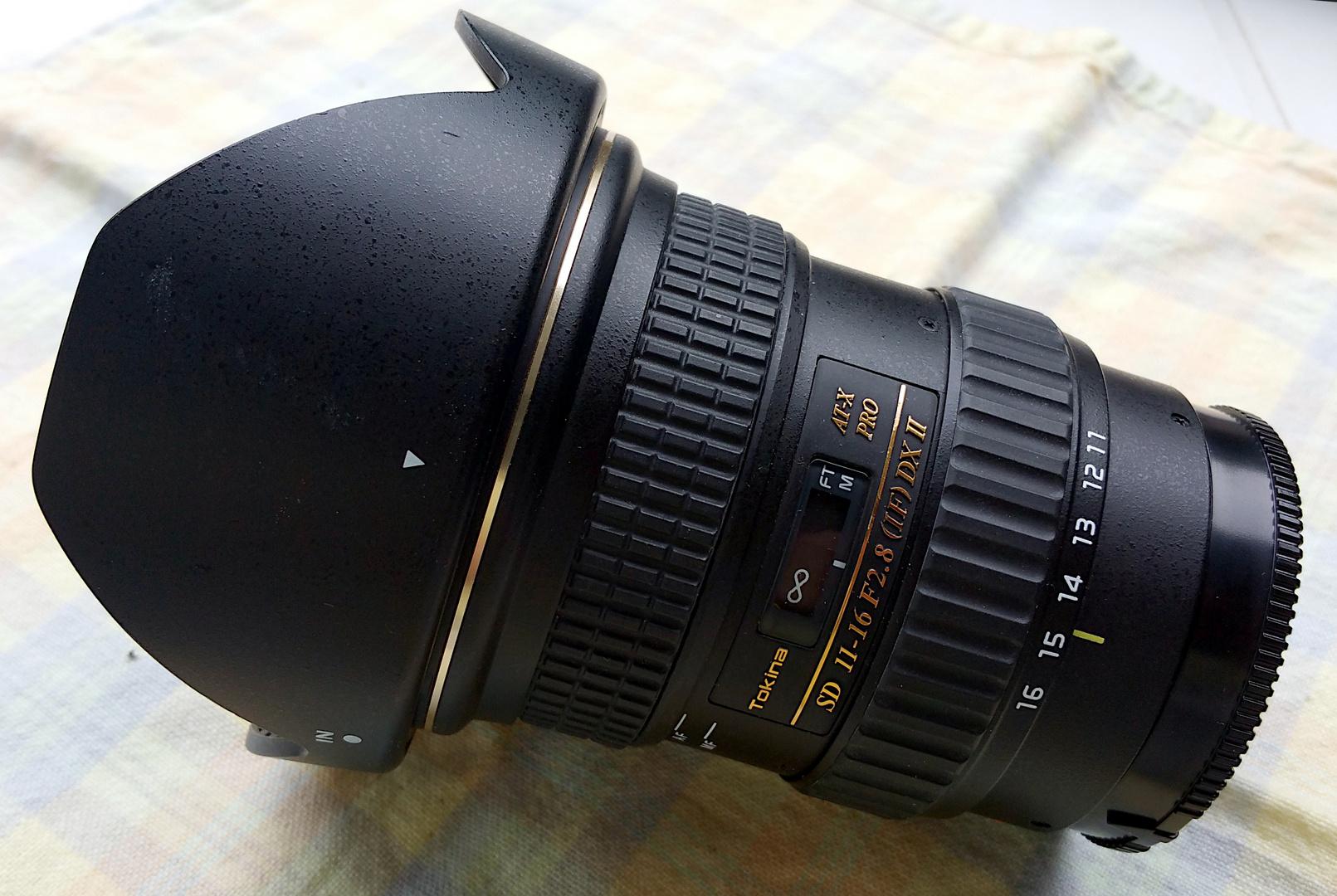 Tokina AT-X Pro DX II 2.8/11–16 mm 2017
