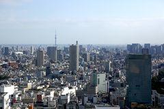 Tokio von oben am Tag