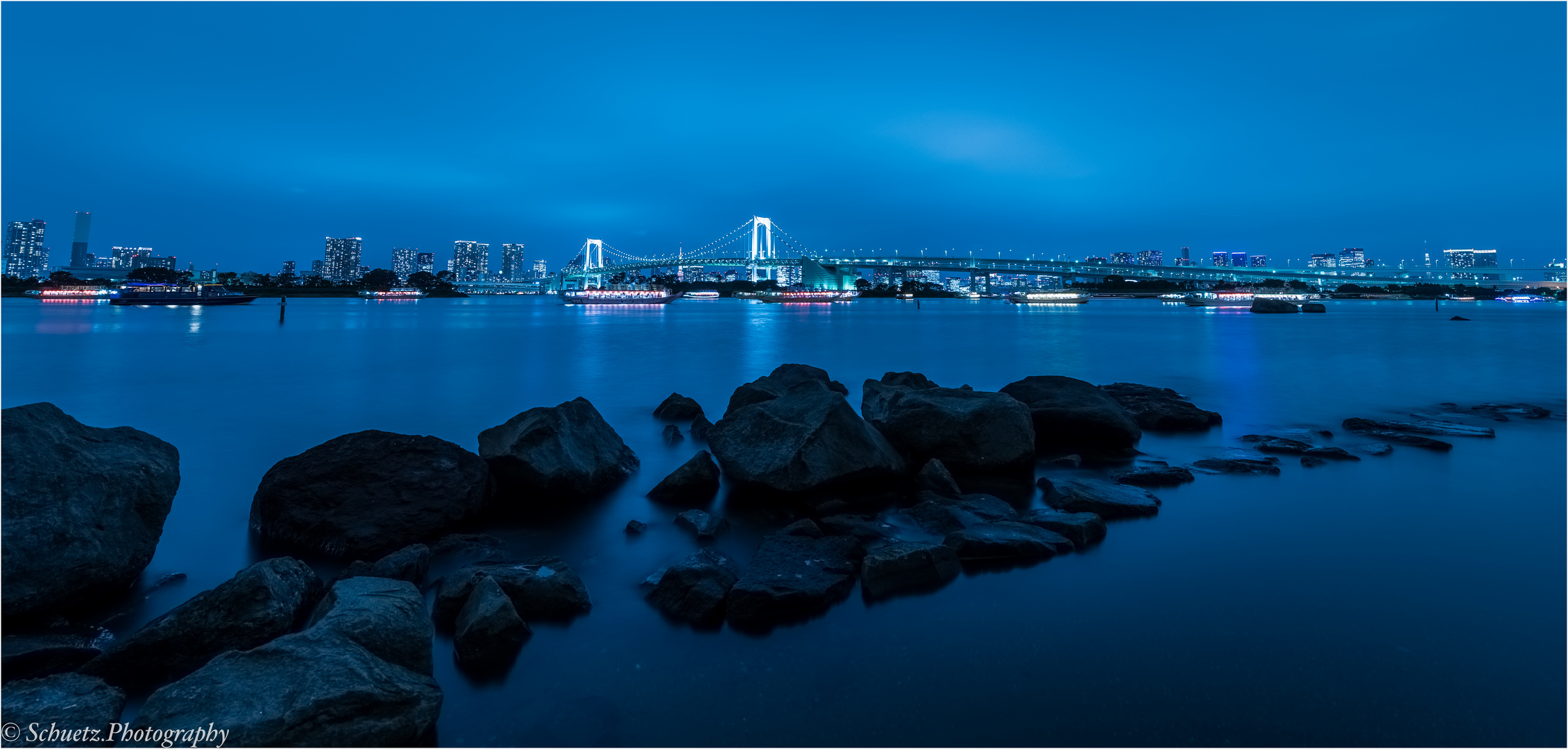 Tokyo at blue hour
