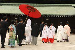 Tokyo, Hochzeit im Meiji-Schrein