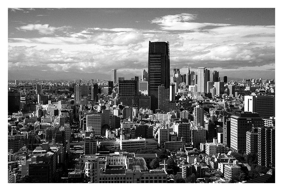 Tokyo in Black & White