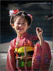 Tokyo - Piccola in Kimono