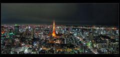 Tokyo Skyline Panorama