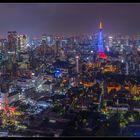 Tokyo Skyline Roppongi hills