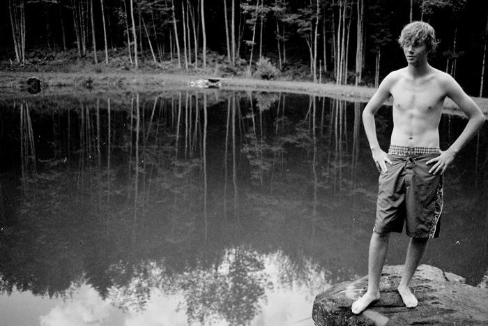 Tom am Gloria's Pond