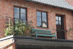 Tomaten-Bank-Balkon ohne Gitter