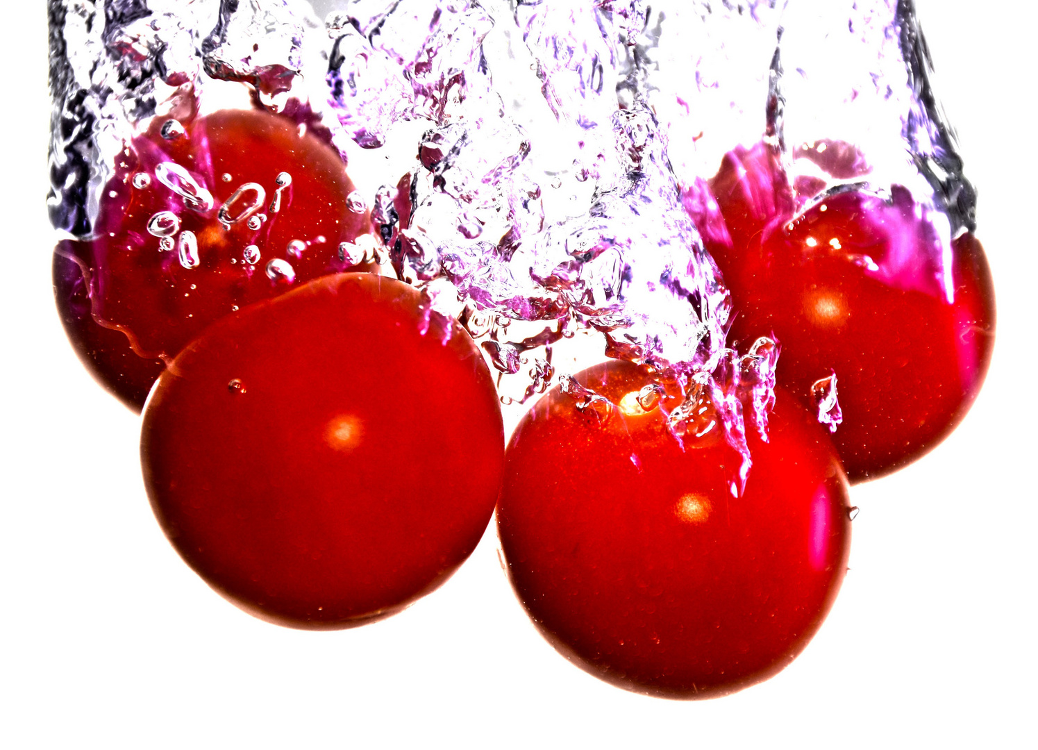 Tomaten im Wasser