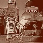 tomato e hamburger