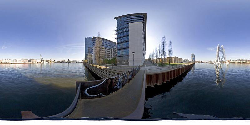 Tonemapping vs Photoshop Tiefen/Lichter: hier PS Lichter/Schatten