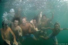 Tonini-Riderz - unter Wasser