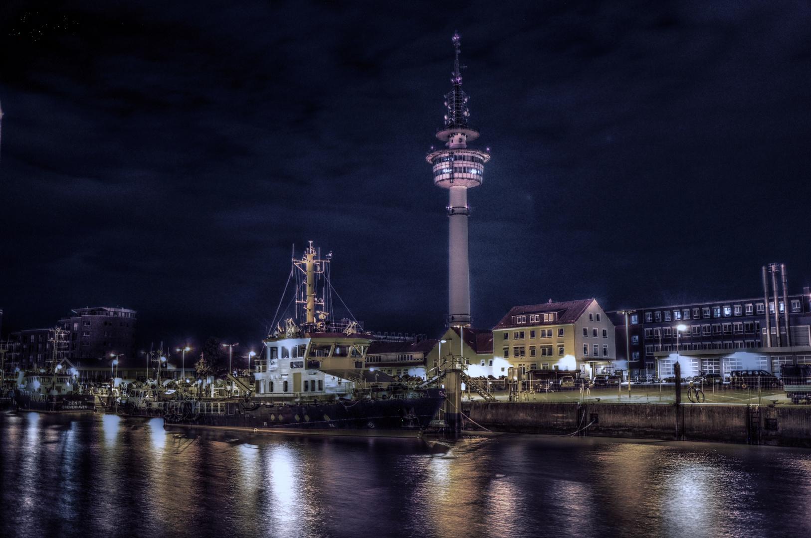 Tonnenhof bei Nacht HDR
