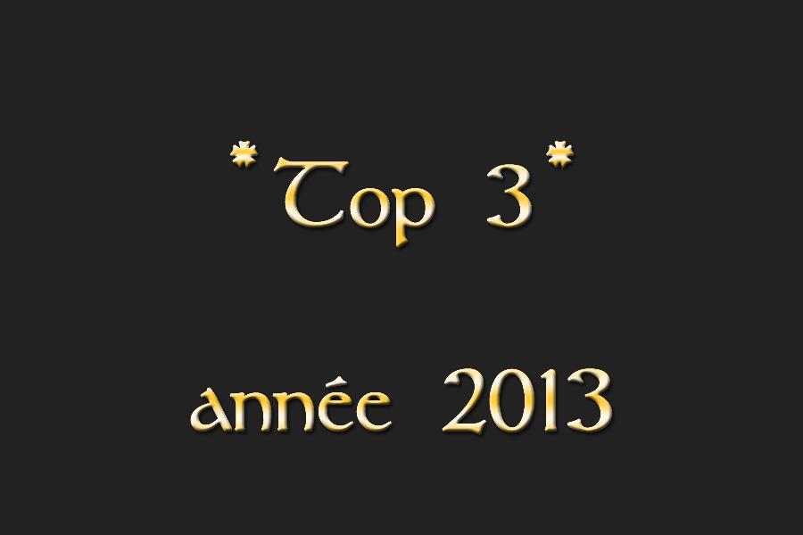 Top 3 2013