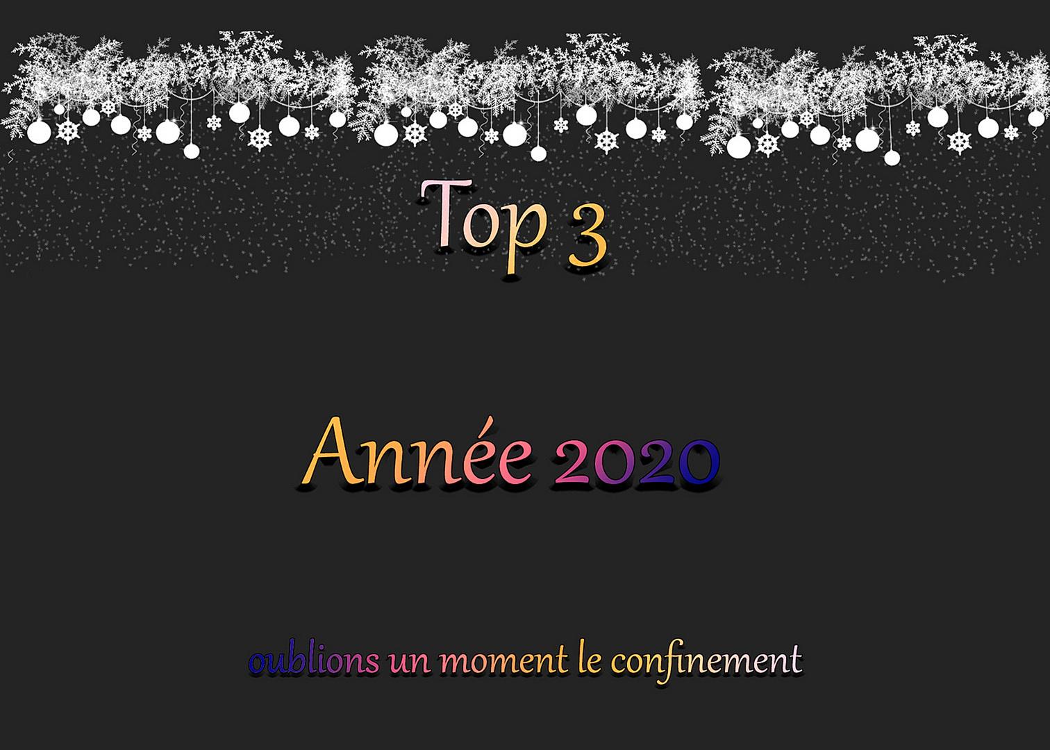 TOP 3 Année 2020