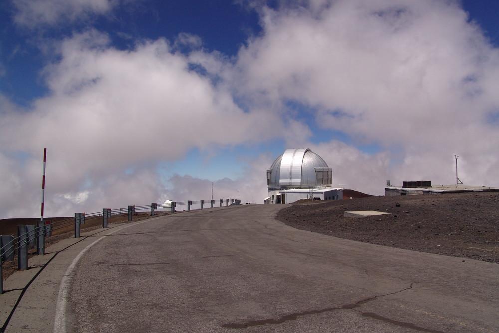 Top of Mauna Kea Volcano