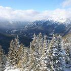 Top of Sulphur Mountain view, Banff, Canada