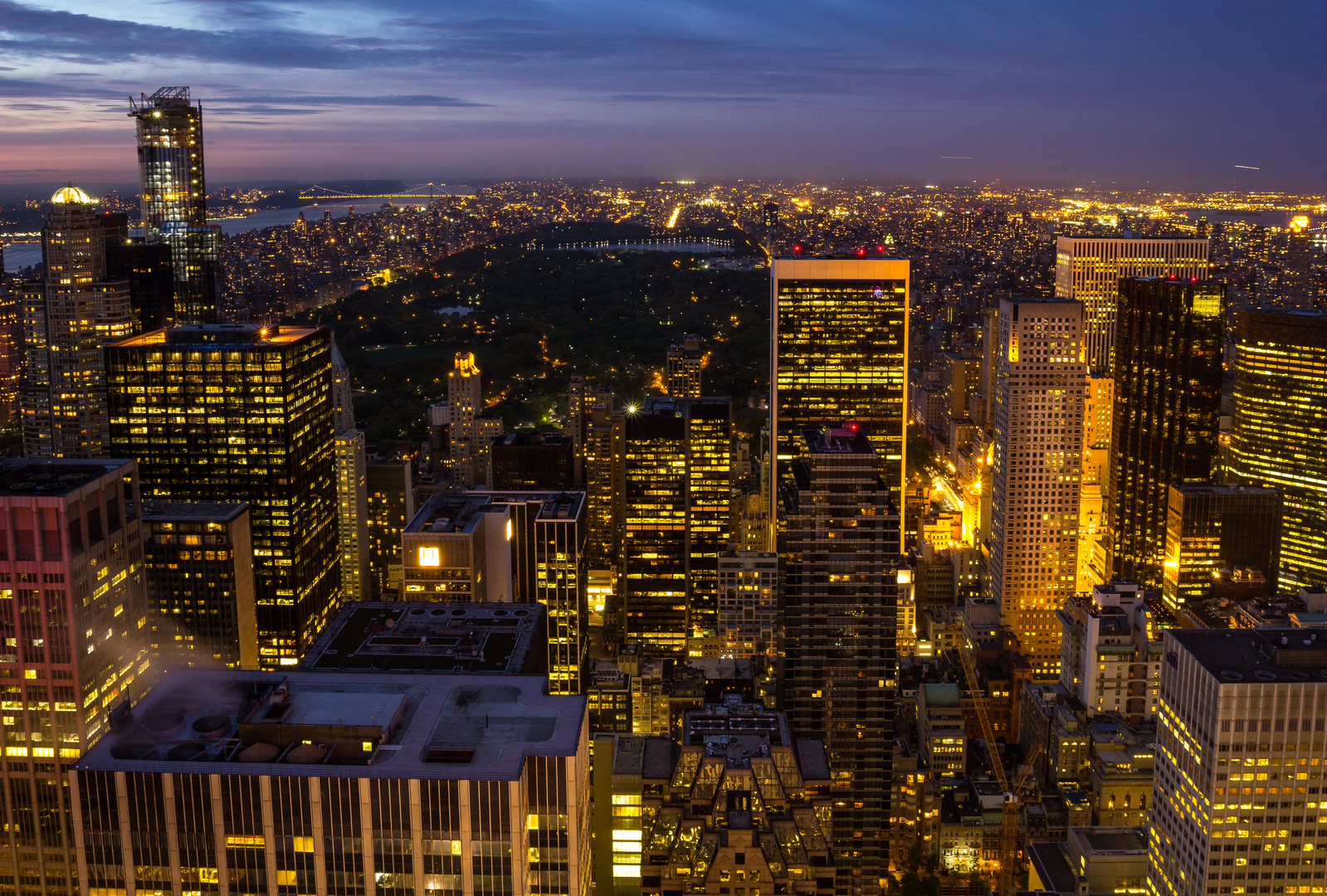 -- Top of the Rock Northbound --
