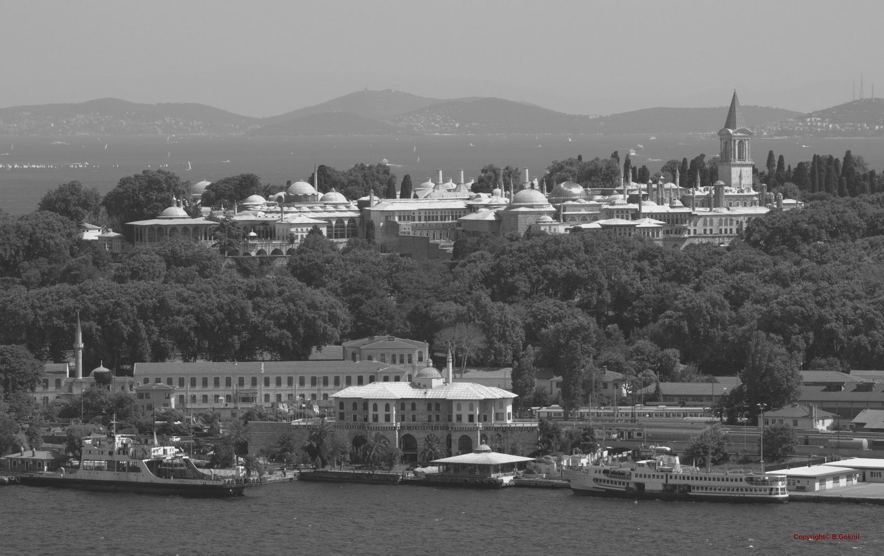 Topkapi Palast, Bosporus