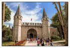Topkapi Palast-Tor des Friedensgrußes