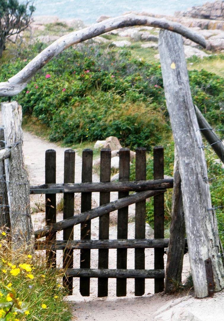 Tor auf Bornholm